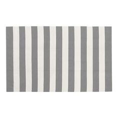 gray stripes from Crate and Barrel