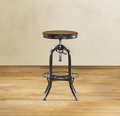 Round Up: Industrial Style Backless Drafting Stools