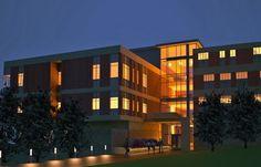 Clarke University Science Building