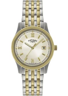 31249217dcf Rotary men s two tone champagne watch. Knight Jewellers