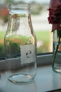 Glass etching tutorial.