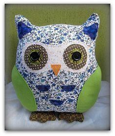 Owl cushion, Dylan £17.50