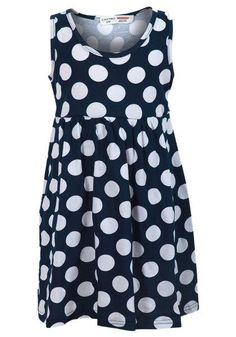 Girls' Polka Dots Print Casual Summer Sleeveless Dress  #fashionstyle #fashionista #instagram #shoppingonline #clothes #instalikes #fashion #kidsclothes #shoppingday #onlinestore