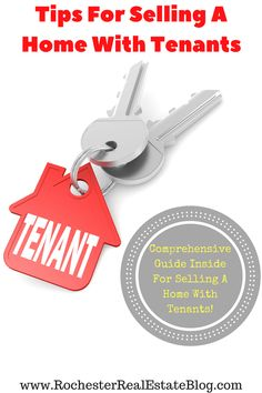 Tips For Selling A Home With Tenants - http://www.rochesterrealestateblog.com/tips-selling-a-home-with-tenants/ via @KyleHiscockRE