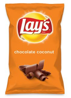 Wouldn't oreo be yummy as a chip? Lay's Do Us A Flavor is back, and the search… Lays Potato Chip Flavors, Lays Chips Flavors, Lays Potato Chips, Oreo Flavors, Chocolate Covered Bacon, Salted Chocolate, Chocolate Dipped, Mint Chocolate, Chocolate Chips