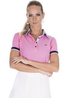 6f874f30496d8 27 melhores imagens de Camisa Polo Feminina   Polo shirts, Women s e ...