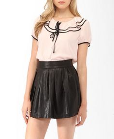 not sure if I'd wear so many ruffles like this, but it's cute