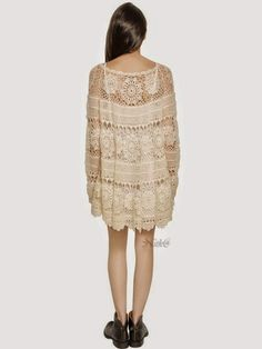 Crochet patterns: How to Crochet Your Own Designer Blouse or Party Dress?