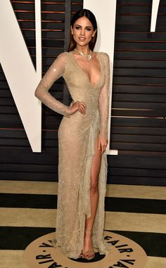 Eiza González from Vanity Fair Oscars Party 2016: What the Stars Wore  In Juan Carlos Obando