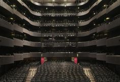 Lyon Opera House, France Theatre Architecture, French Architecture, Covent Garden, Opera Music, Music Theater, Auditorium, Concert Hall, Building Design, Opera House