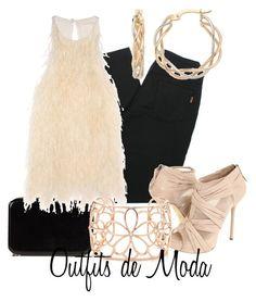 Disco by outfits-de-moda2 on Polyvore featuring moda, Antonio Berardi, D&G, L.A.M.B., Maison Margiela, Tiffany & Co. and Ice