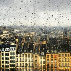 And I want to go to there. #Paris on a rainy day perhaps?