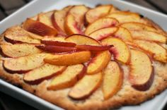 Super-Quick Summer Dessert: Peach and Biscuit Crostata
