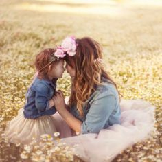 Precious moments.. Mommy and Me.. Tulle skirts  [Meltilly Photography, Little Sparrow Bows]