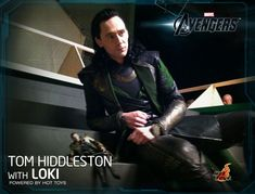 adorable, as always Loki Hangs Out with His Loki ActionFigure - News - GeekTyrant