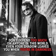 Quotes Discover 23 Joker quotes that will make you love him more For more Motivational and Reali. Dark Quotes Strong Quotes Wisdom Quotes True Quotes Positive Quotes Quotes To Live By Motivational Quotes Inspirational Quotes Legend Quotes Strong Quotes, Wise Quotes, Great Quotes, Quotes To Live By, Positive Quotes, Motivational Quotes, Inspirational Quotes, Dark Quotes, Best Joker Quotes