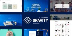 Download Gravity - ECommerce, Agency & Presentation Theme Nulled Latest Version