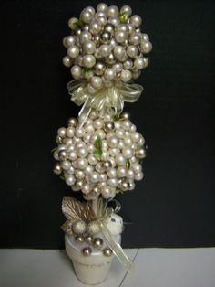 Another Pearl Topiary