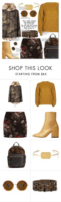 """""""I'll Jump right over into cold, cold water for you"""" by nindi-wijaya ❤ liked on Polyvore featuring Mr & Mrs Italy, Topshop, Ganni, MANGO, Vera Bradley, Jennifer Fisher, The Row, Marni and Effy Jewelry"""