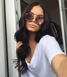 Tips For Changing Your Hairstyle. If you like your hairdo, there's no reason to agonize over making a s Hair Inspo, Hair Inspiration, New Hair, Your Hair, Hair Colorful, Big Chop, Dark Hair, Dark Brown Hair Rich, Soft Black Hair