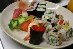 Talleres gratuitos en #ABCSerrano #ABCgastroday #sushi