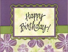 Gerri's Birthday Card