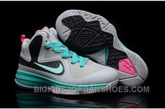 Cheap Lebron 9 Kids Grey Black Green Pink, cheap Nike Lebron 9 Kids, If you want to look Cheap Lebron 9 Kids Grey Black Green Pink, you can view the Nike Lebron 9 Kids categories, there have many styl Kids Clothes Uk, Kids Clothes Australia, Kids Clothing Rack, Clothing Stores, New Jordans Shoes, Air Jordan Shoes, Nike Shoes, Cheap Jordans, Fashion Sandals