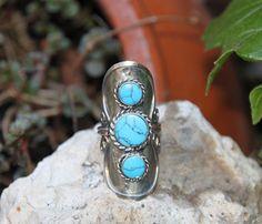 anillo de alpaca con piedra natural de hamuck en Etsy