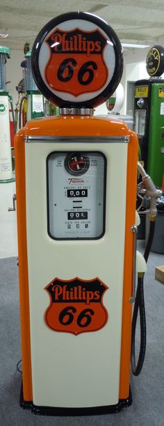 Very nice restored original Tokheim 39 done in Phillips 66. Contact us via route32restorations.com if interested.