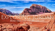 With the impressive ruins of Petra being on our bucket list, I couldn't help but want to research it a little bit more and what I found was a welcoming surprise. Petra is always portrayed as … City Of Petra, Travel Articles, Jordans, Wanderlust, Bucket, Explore, Writing, Exploring, Aquarius