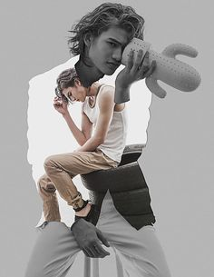 The handsome Gil Cuerva represented by IM Models stars in Mirage story captured by fashion photographer Rxandy Capinpin with graphics by Nixon Marquez. Androgynous Fashion, We Bare Bears, White Horses, Fresh Face, Asian Actors, Celebrity Crush, Fashion Photography, Handsome, Photoshoot