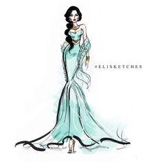 Jasmine by elisketches