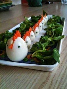 Telur-telur yang imut dan lucu sekali ya. :)