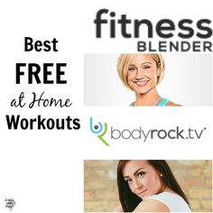 Best Free At Home Workout Sites. These offer some killer HIIT and ther style workouts that you can do from the comfort of your own home! on dreambookdesign.com