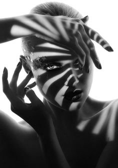 - inspiration for SexyMuse.com - Black and White fashion Photography - love the shadow effect on this one #shadows
