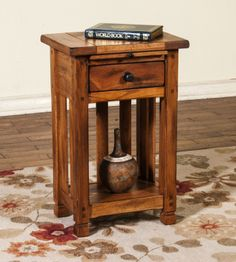 Sedona Phone Stand | Sunny Designs Furniture | Home Gallery Stores