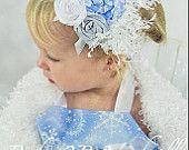 Winter Onederland Snow Princess Headband