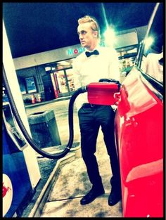 Random friend: Who is this sexy pumping gas? Who?   Me: Draco Malfoy p.s he's mine