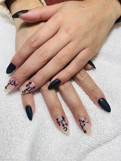 My Nails, Nail Art, Beauty, Black, Cosmetology, Nail Arts, Nail Art Designs