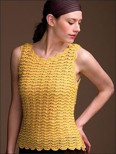 Thursday Handmade Love Week 57 Theme: Summer Tops Includes links to #free #crochet patterns