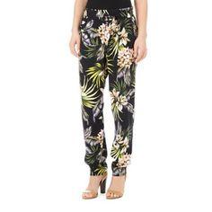 new high quality discount sale classic style Quiz Black line print harem trousers- at Debenhams.com | summer ...