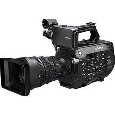 Sony Xdcam Camcorder Super 35 Cmos Sensor w/Servo Zoom E-Mount FE PZ Lens - International Version (No Warranty), Silver Cinema Camera, Sony Camera, Camera Gear, Video Camera, Best Camera, Digital Camera, Perfect Camera, Camera Bags, Camcorder