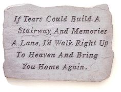 Can't help but think of my cousin when reading this, at her funeral I received a blanket that said this on it.