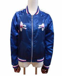 Ladies Fashion Life Bomber Jacket