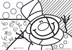 снеговик_1 (700x494, 235Kb) Christmas Crafts For Kids, Christmas Colors, Christmas Snowman, Christmas Time, Holiday, Christmas Cards Drawing, Seasons Activities, Arte Country, Christmas Coloring Pages