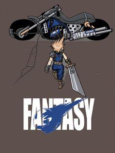 Parody poster Akira - Final Fantasy