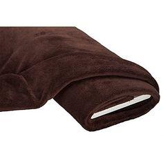 Tissu polaire doux, marron foncé, doux et molletonné, idéal pour des vêtements bien chaud.Composition : 100 % polyesterPoids : env. 250g/m²Epaisseur : env. 7 mmLargeur : 155cm