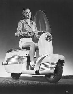 1946 Globester motor scooter
