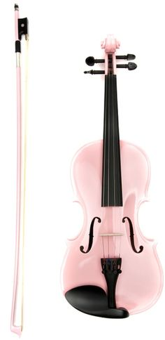 Violin one of my fav instruments to play! Wish I would of had a pink one! Pink Violin, Violin Art, Violin Music, Violin Instrument, Violin Tumblr, Pink Love, Pretty In Pink, Pale Pink, Purple
