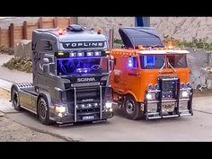 RC truck ACTION! Amazing R/C trucks at the Faszination Modellbau fair! - YouTube